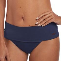 Vêtements Femme Maillots de bain séparables Fantasie Bas de maillot ceinture revers ajustable Marseille twilight Bleu