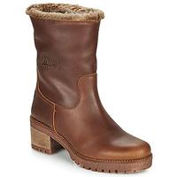 Schuhe Damen Boots Panama Jack PIOLA Braun,