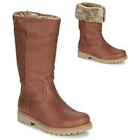 Schuhe Damen Boots Panama Jack BAMBINA Braun,