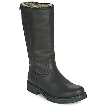 Chaussures Femme Boots Panama Jack BAMBINA Noir