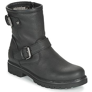 Schuhe Damen Boots Panama Jack FELINA Schwarz