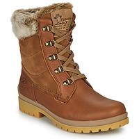 Schuhe Damen Boots Panama Jack TUSCANI Braun,