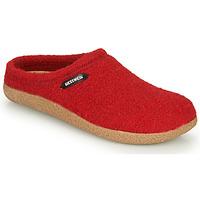 Scarpe Donna Pantofole Giesswein VEITSCH Rosso