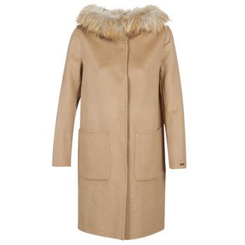 Abbigliamento Donna Cappotti Oakwood YALE BI Camel / Grigio