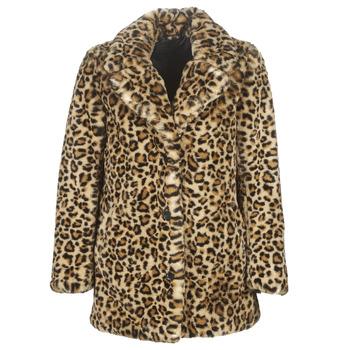 Abbigliamento Donna Cappotti Oakwood USER Leopard