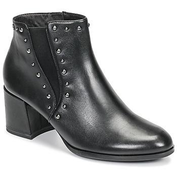Schuhe Damen Low Boots Tamaris LOUZI Schwarz