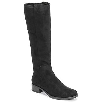 Chaussures Femme Bottes ville Unisa ELIZA Noir
