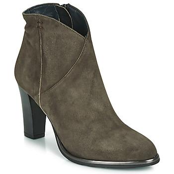 Schuhe Damen Low Boots Myma PELMA Kaki