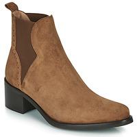 Schuhe Damen Low Boots Myma PALMA Cognac