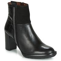 Schuhe Damen Low Boots Hispanitas INES Schwarz