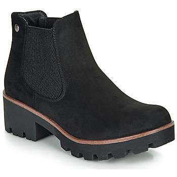 Schuhe Damen Low Boots Rieker 99284-02 Schwarz