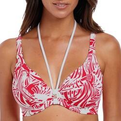 Vêtements Femme Maillots de bain séparables Fantasie Haut de bikini plongeant avec armatures Como sunset Orange
