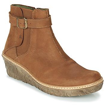 Chaussures Femme Bottines El Naturalista MYTH YGGDRASIL Marron