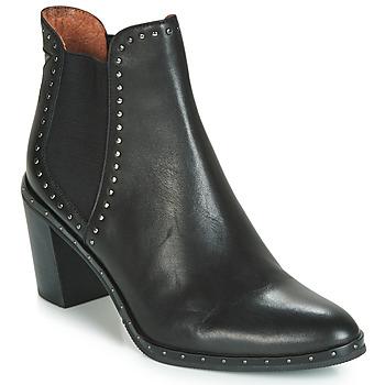 Schuhe Damen Low Boots Mam'Zelle NAGI Schwarz