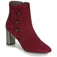 Schuhe Damen Low Boots Perlato 11312-CAM-ROUGE Rot