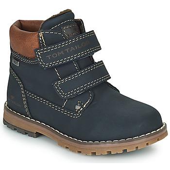 Schuhe Jungen Boots Tom Tailor 73003-BLEU Blau