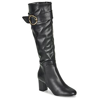 Schuhe Damen Klassische Stiefel Moony Mood FIMMINI Schwarz