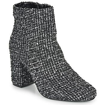 Schuhe Damen Low Boots Moony Mood FRIPON Weiß