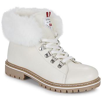 Chaussures Femme Boots Les Tropéziennes par M Belarbi LACEN Blanc