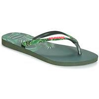 Chaussures Femme Tongs Havaianas SLIM SENSATION Vert