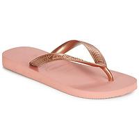Chaussures Femme Tongs Havaianas TOP TIRAS Rose