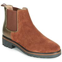 Schuhe Damen Boots Karston ONKIX Braun