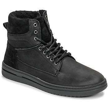 Schuhe Jungen Sneaker High Bullboxer AID500E6L-BLCK Schwarz