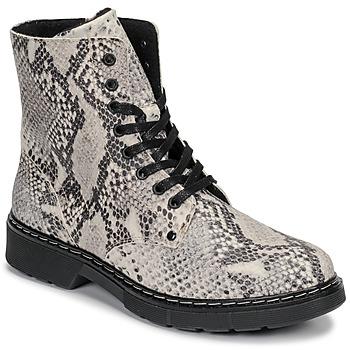 Schuhe Mädchen Boots Bullboxer AHC501E6LEOF-WHKB Grau