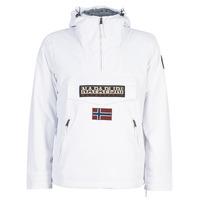 Abbigliamento Uomo Parka Napapijri RAINFOREST POCKET Bianco