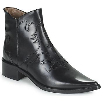 Schuhe Damen Low Boots Muratti REDBUD Schwarz