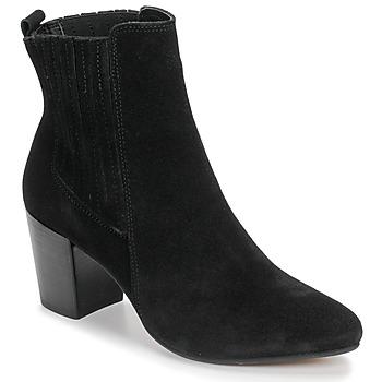 Schuhe Damen Low Boots Bullboxer 348508E6C-BLCK Schwarz