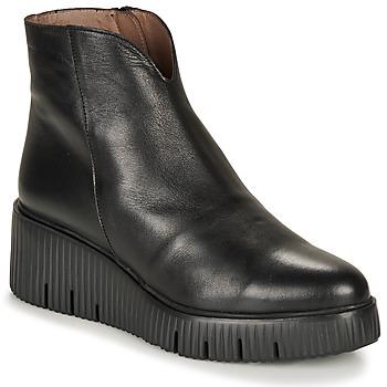 Chaussures Femme Boots Wonders E6210-VELVET-NEGRO Noir