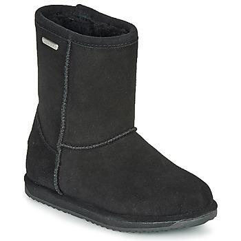 Chaussures Enfant Boots EMU BRUMBY LO WATERPROOF Noir