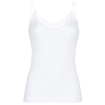 Unterwäsche Damen Unterhemden Pieces PCTOLOA Weiss