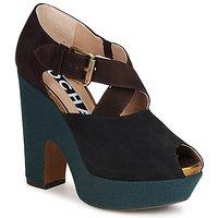 Schuhe Damen Pumps Rochas NINFEA Braun / Blau