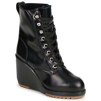 Schuhe Damen Low Boots Marc Jacobs MJ19142 Schwarz