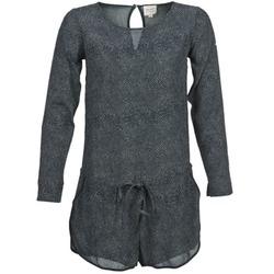 Kleidung Damen Overalls / Latzhosen Petite Mendigote LOUISON Schwarz / Grau