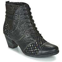 Chaussures Femme Bottines Remonte Dorndorf D8786-06 Noir