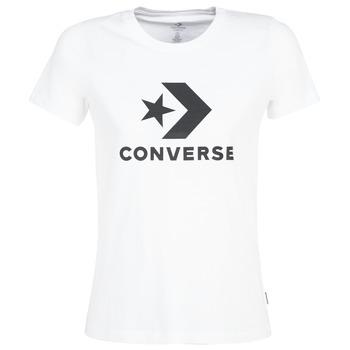 Kleidung Damen T-Shirts Converse STAR CHEVRON Weiß