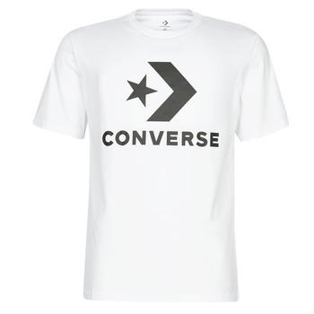 Kleidung Herren T-Shirts Converse STAR CHEVRON Weiß