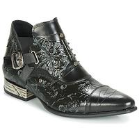 Chaussures Homme Boots New Rock BRAVA Noir