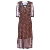 Abbigliamento Donna Abiti lunghi See U Soon 9221839 Nero / Rosso
