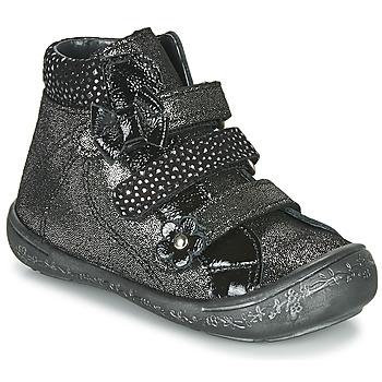 Chaussures Fille Baskets montantes Citrouille et Compagnie HODIL Noir