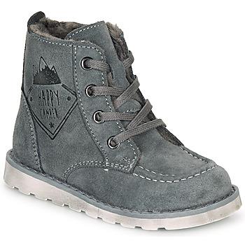 Chaussures Garçon Boots Citrouille et Compagnie LISITON Gris