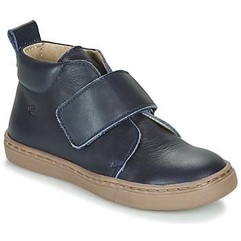 Schuhe Jungen Boots Citrouille et Compagnie FOJAMO Marineblau