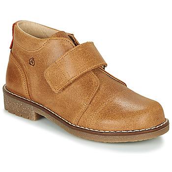 Schuhe Jungen Boots Citrouille et Compagnie LAPUPI Kamel