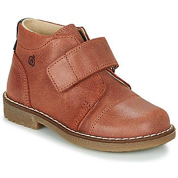 Chaussures Garçon Boots Citrouille et Compagnie LAPUPI Marron