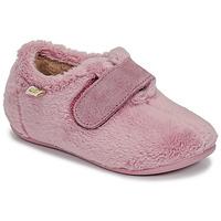 Schuhe Mädchen Hausschuhe Citrouille et Compagnie LAFINOU Rose