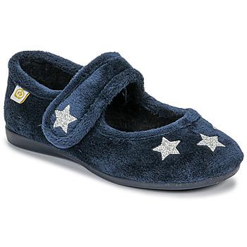 Chaussures Fille Chaussons Citrouille et Compagnie LANINOU Marine