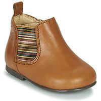 Schuhe Mädchen Boots Citrouille et Compagnie LISETTE Kamel